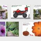 Madeira Self-Adhesive Stamps