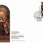 Saint Teresa de Jesus 500th Anniversary (FDC-S)