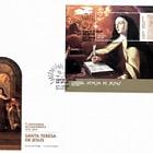 Saint Teresa de Jesus 500th Anniversary (FDC-SS)