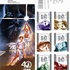 Star Wars - 40 years (Self-Adhesive)