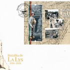 The Battle of the Lys 1918 - 2018, a Hundred Years Ago - (FDC M/S)