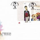 130th Anniversary of the First Edition of OS MAIAS - (FDC M/S)