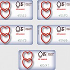 Give Blood - Give Blood Relations Label Set
