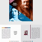 Figures in World History and Culture - Brochure with Stamps