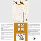 500 Years of the Postal Service in Portugal - 4th Group - Brochure with Set & M/S
