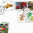 Madeira Self-Adhesive Stamps