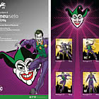 Personalized Stamps DC Comics - Joker