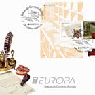 Portugal - Europa 2020 - Ancient Postal Routes - FDC M/S
