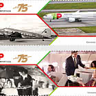 75 Anni di Tap Air Portugal