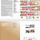 75 Years Of Tap Air Portugal - Brochure with Set and M/S  comes as CTO
