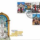Festivities Divino Espirito Santo - Azores - FDC SET