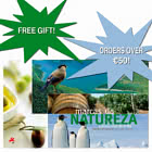 Spend Over €50 and get FREE gift - Album FDC Brands of Nature