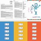 Franking Labels - World Tuberculosis Day - Brochure with Franking Labels Comes as CTO