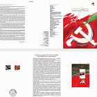 Portuguese Communist Party - 100 Years - Brochure with Set and Souvenir-sheet  comes as CTO