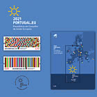 Portuguese Presidency Of The Council Of The European Union - Brochure with Set and Souvenir-sheet Comes as CTO