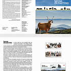 Terras De Barroso - World Agricultural Heritage - Brochure with Set and Souvenir-sheet Comes as CTO