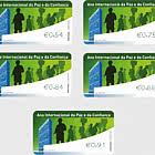 Franking Labels - International Year of Peace and Trust
