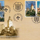 Joint Issue Romania & Croatia - Spirituality- Fortified churches