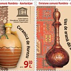 Joint Issue Romania & Azerbaijan - Traditional Folk Art