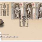 Arquitectura – El palacio del Banco Nacional de Rumanía (II) sello de emisión conjunta de Rumanía- Polonia: