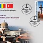 Emisión conjunta de sello de RUMANÍA-TURQUÍA