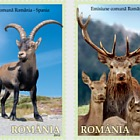 Joint stamp issue Romania – Spain: Mountain Fauna