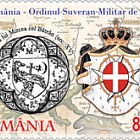Joint stamp issue: Romania – Sovereign Military Order of Malta: Christianity and Heraldry
