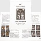 "Stained Glass Windows - ""Eng. Dumitru Furnica-Minovici"" Western Old Art Museum"