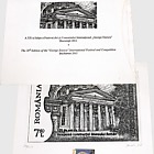 Romania 2011 Collectibles - The 20th Edition of the George Enescu International Festival and Competition (Engraving)