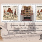 Joint stamp issue Romania-Germany: The fortified Church of Biertan – Monument from UNESCO World Heritage