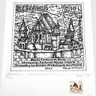 Romania 2011 Collectibles - Joint stamp issue Romania-Germany: Fortified Church of Biertan – UNESCO World Heritage