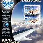 Romania 2010 Miniature Sheet - 65 Years of Empowering the Global Community Through Aviation - ICAO