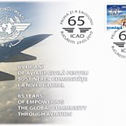 Romania 2010 First Day Cover - 65 Years of Empowering the Global Community Through Aviation - ICAO