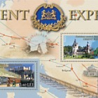 Joint stamp issue Romania-Austria: Orient Express