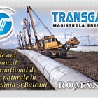 Transgaz - 35 years of international natural gas transit in Romania and the Balkans