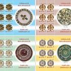 Romanian Pottery - Peasant dishes I