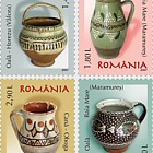 Romanian Pottery - Pots and Cups