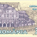 Joint stamp issue Romania - Luxembourg: Luxembourg House in Sibiu