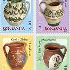 Romanian Pottery - Pots and cups (II)