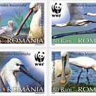 Protected Birds - The Eurasian Spoonbill, WWF - World Wide Fund For Nature