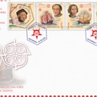 50th Anniversary of the First Europa Stamps (FDC Perforated Set)