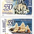 550 years since the birth of Amerigo Vespucci