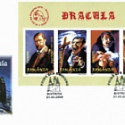 Dracula (FDC with Imperforated Block)