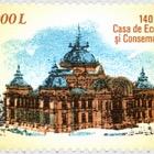 Banco de ahorros rumano - 140 años