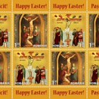 Holy Easter 2017- (Sheetlet of 8 Stamps with 4 Sets)