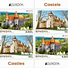 Europa 2017- Castles- Type I (Value of 4.50 L in the Upper Left Corner)
