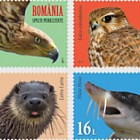 Joint stamp issue Romania – United Nations Postal Administration: Endangered species
