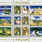 The Victor Brauner Centenary - (Block of 12 Stamps)