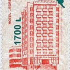 "Hotels and Cabins 1991, overprint ""egret"""