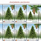 Joint Stamp Issue Romania – Estonia, Forest Species